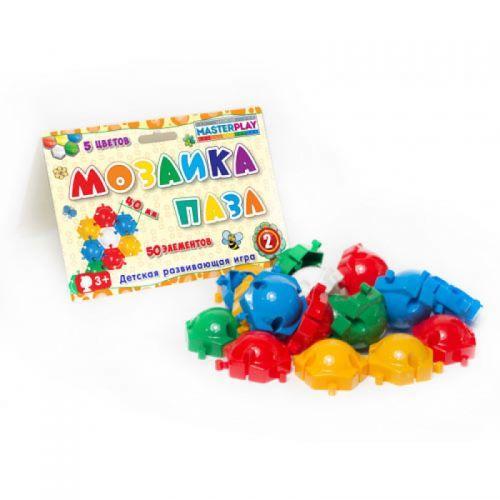 """Мозаика для детей пазл """"Master Play"""" (50 дет) 1-143"""