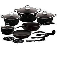 Набор посуды Berlinger Haus Black Professional Line BH 6129 (15 предметов)