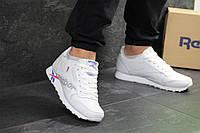 Мужские кроссовки в стиле Reebok, белые 46(29,6 см), последний размер
