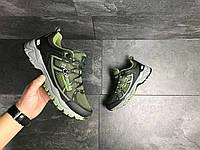Мужские кроссовки в стиле Columbia Montrail, зеленые. 41(26,3 см), размеры:41,45