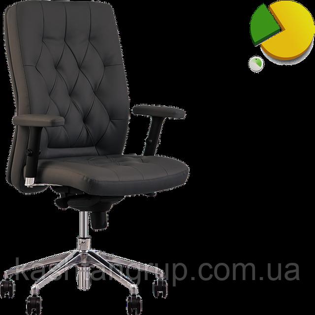 Кресло CHESTER R steel ES AL70 Екошкіра ECO