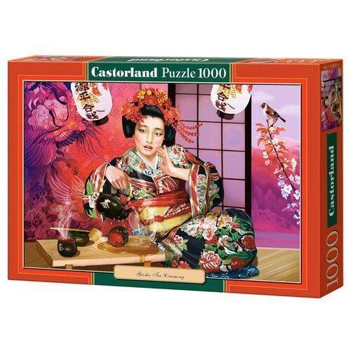 "Пазлы ""Чайная церемония"", 1000 элементов.Пазлы Castorland C-102631"