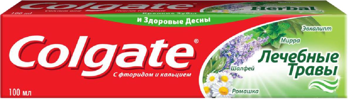 """Зубна паста Colgate """"Лікарські трави"""" (100мл.)"""