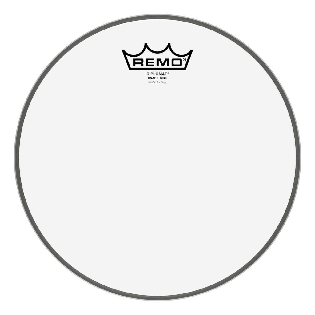 Пластик прозрачный однослойный REMO DIPLOMAT 12'' CLEAR
