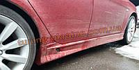Пороги (Dr-st) на  Mitsubishi Lancer X