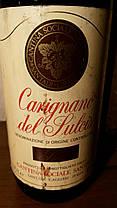Вино 1985 года Carignano del Sulcis Италия, фото 2