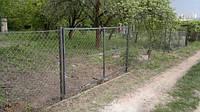 Ворота из рабицы Харьков, фото 1