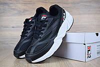 Женские кроссовки в стиле Fila Venom, черные 37 (23,5 см)