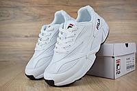 Женские кроссовки в стиле Fila Venom, белые 38 (24,5 см)