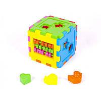 Логический куб-сортер со счетами (18шт/уп)  50-201