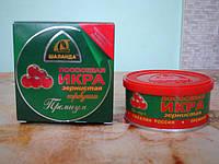 Икра лососевая красная (горбуша, ж/б 100 гр.) Премиум