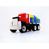 Машина грузовик с бидонами  № 05-402