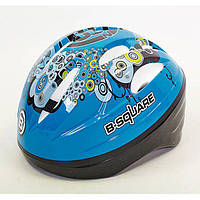 Шлем защитный детский B-Square (54-58) синий B2-018