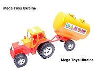 Трактор с цистерной большой Bamsic, фото 1