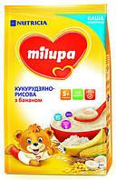 Каша Milupa молочная кукурузно-рисовая с бананом (с 5 месяцев) 210 г