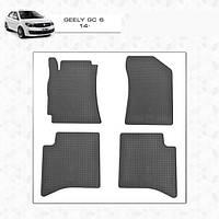 Geely GC-6 резиновые коврики Stingray Premium