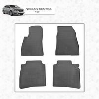 Nissan Sentra резиновые коврики Stingray Premium