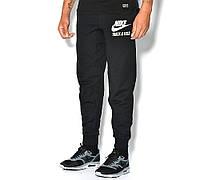 """Спортивные штаны мужские черные """"Nike"""" Найк"""
