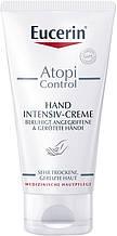 Крем для рук Eucerin AtopiControl Интенсивный для сухой и атопической кожи 75 мл