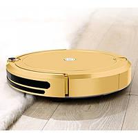 Робот пылесос Fengrui Pro для сухой и влажной уборки Золотистый