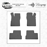 Daewoo Nexia резиновые коврики Stingray Premium