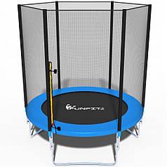 Батут FunFit 183 см (до 90 кг) сітка