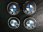 BMW 4 серия F-32 2012↗ гг. Колпачки в титановые диски V1 (4 шт) 55 мм