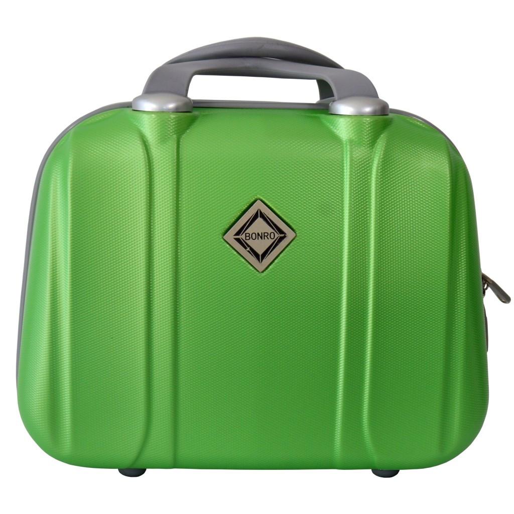 Сумка кейс саквояж Bonro Smile (маленький) салатовий (green 696)