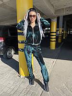 Женский спортивный костюм из бархата, фото 1
