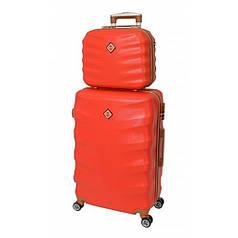 Комплект чемодан + кейс Bonro Next (невеликий) червоний