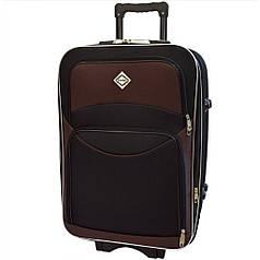 Валіза на колесах Bonro Style (велика) чорно-коричнева