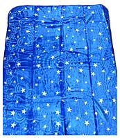 Плед Cappone гладкий (облегченка) 1,5 х 2. Звездное небо.