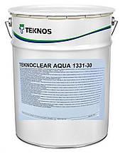 Лак Teknos водный (Текнос) TEKNOCLEAR AQUA 1331 (блеск 30) для мебели, шведских стенок, кроватей, вагонки