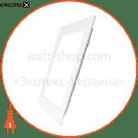 Eurolamp EUROLAMP LED Светильник квадратный Downlight NEW 6W 3000K (40)