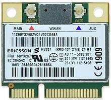 3G модем Ericsson H5321 для ноутбука Mini PCI Express Card (04W3786) бу