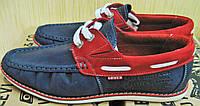 Levis Boat Sider туфли мужские весна лето осень кожа топсайдеры стильные реплика, фото 1