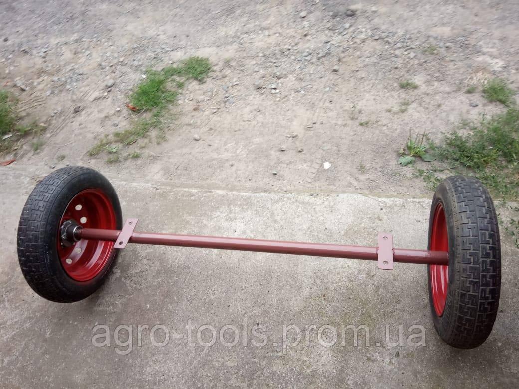Балка для прицепа с колесами в сборе (ступицы 2108)