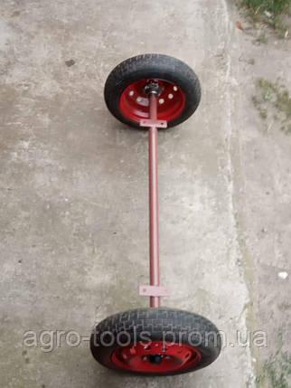 Балка для прицепа с колесами в сборе (ступицы 2108), фото 2