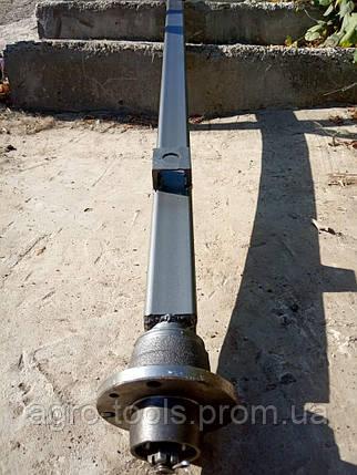Ось на прицеп квадратная, усиленная со ступицами шплинтованными под жигулевское колесо АТВ-155 (01Р), фото 2