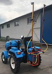 Опрыскиватель 100 литров для мотоблока и мототрактора (1т)