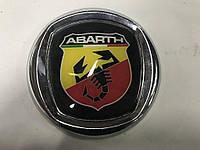 Fiat Stilo 2001-2007 гг. Значок (Abarth, самоклейка) 75 мм