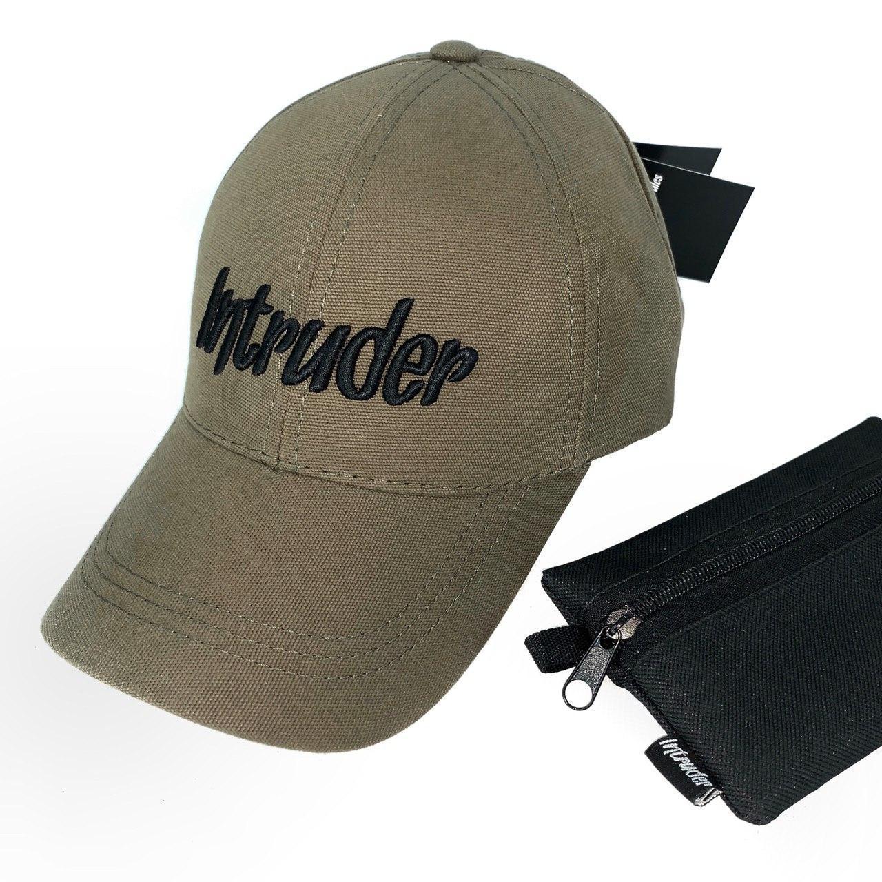 Кепка мужская/ женская Intruder big logo хаки Intruder