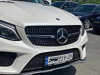Mercedes GLE coupe Тюнинг решетка радиатора с местом под камеру Diamond