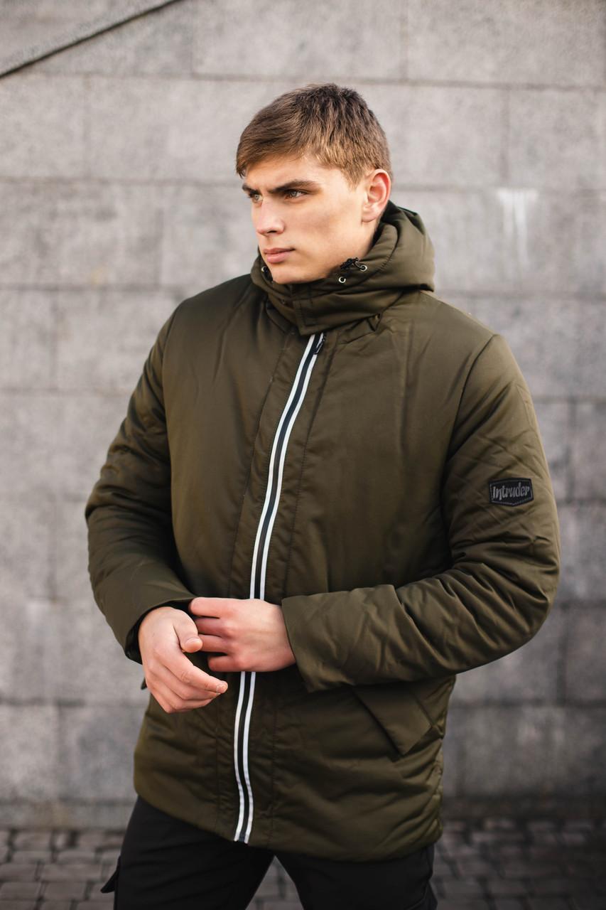 Мужская демисезонная куртка Intruder Spart хаки Intruder