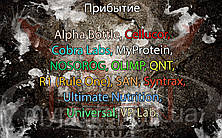 Поступление: Alpha Bottle, Cellucor, Cobra Labs, MyProtein, NOSOROG, OLIMP, QNT, R1 (Rule One), SAN, Syntrax, Ultimate Nutrition, Universal, VP Lab.