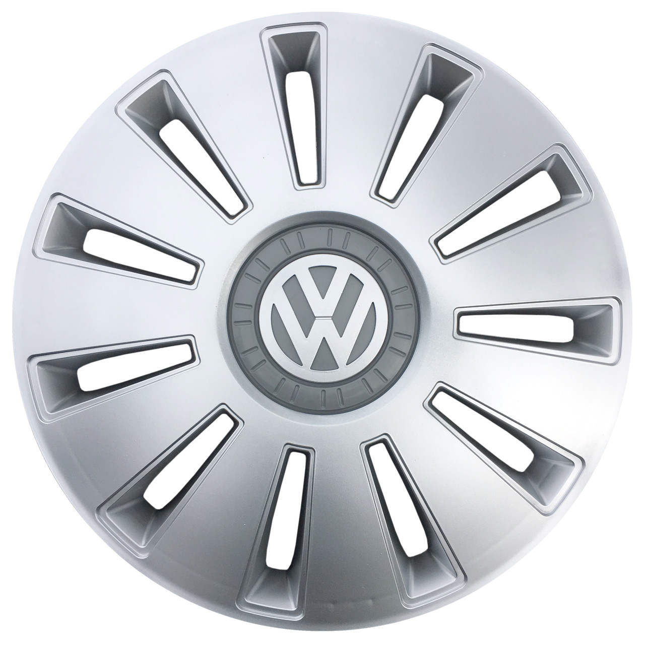 """Колпаки Volkswagen R16"""" Серебристые 4шт"""