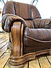 М'який шкіряний комплект Дивпнов з Голландії, фото 3