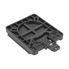 Быстросъемная поворотная пластина пластик, черная NEWSTAR 75316, фото 2