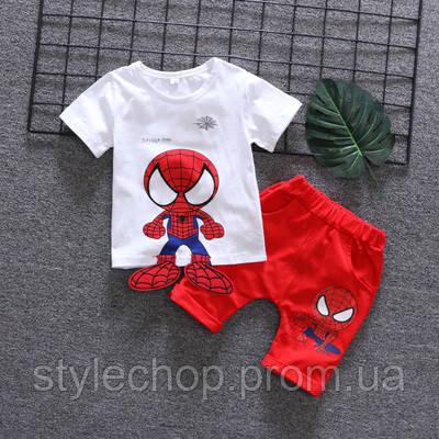 Костюм літній на хлопчика людина-павук