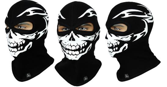 Балаклава с черепом Rough Radical Scull S3 (original), маска, подшлемник, фото 2